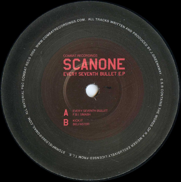 Scanone - Every Seventh Bullet E.P