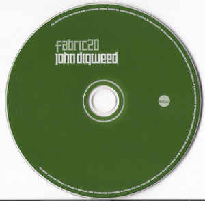 John Digweed - Fabric 20 cover of release