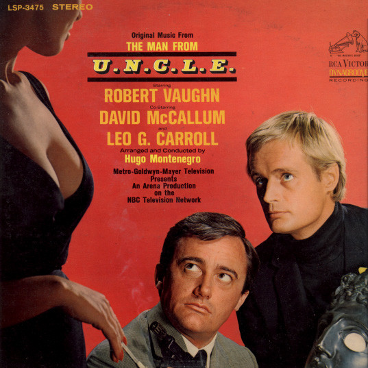 Hugo Montenegro - Original Music From The Man From U.N.C.L.E.