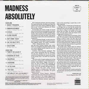Madness - Absolutely cover of release