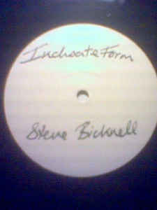 Steve Bicknell - Lost Recordings #7 - Inchoate Form cover of release