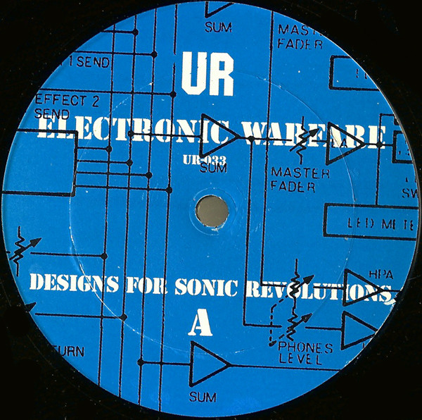 Underground Resistance - Electronic Warfare - Designs For Sonic Revolutions