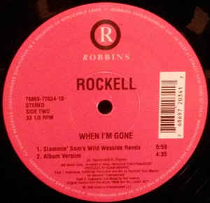 Rockell - When I'm Gone cover of release