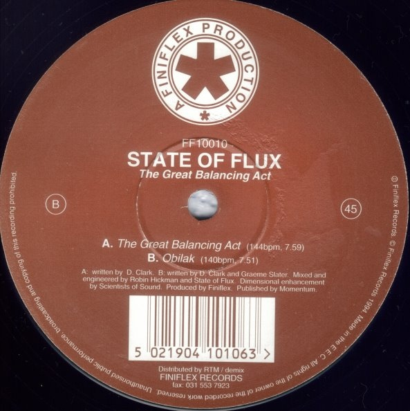 State Of Flux - The Great Balancing Act
