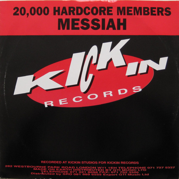 Messiah - 20,000 Hardcore Members