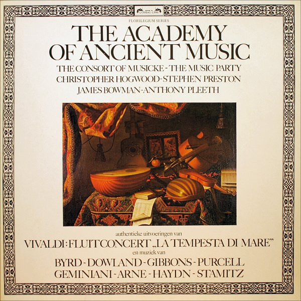 Francesco Geminiani - The Academy Of Ancient Music - The