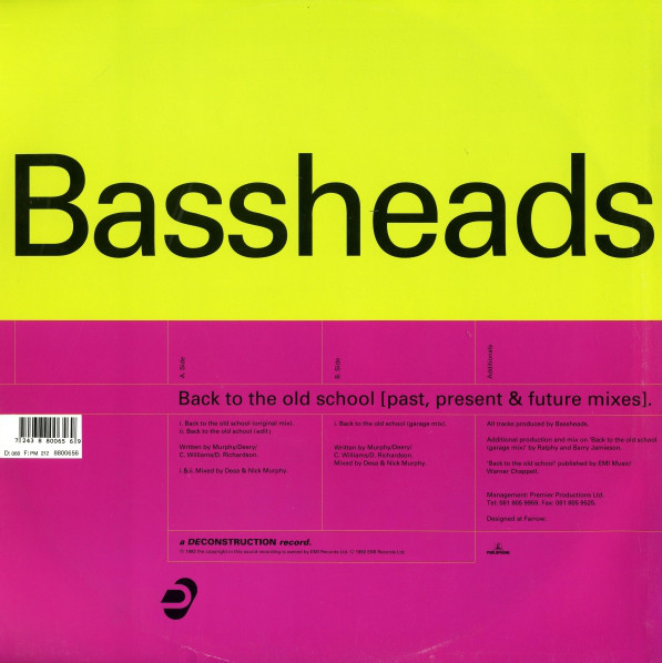 Bassheads - Back To The Old School