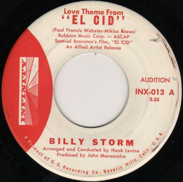 Billy Storm - Love Theme From