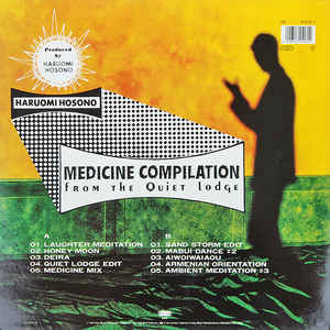Haruomi Hosono - Medicine Compilation From The Quiet Lodge cover of release