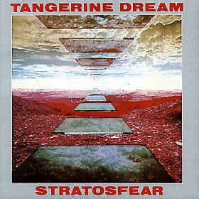 Tangerine Dream - Stratosfear cover of release