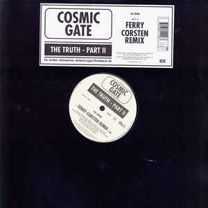 Cosmic Gate - The Truth Part II cover of release