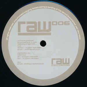 Guy McAffer, Mark Tyler - RAW 006 cover of release