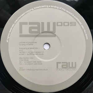 Guy McAffer - RAW 009 cover of release