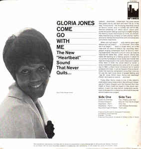 Gloria Jones - Come Go With Me