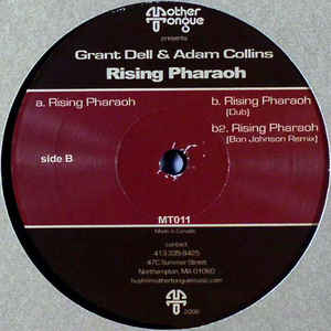 Grant Dell, Adam Collins - Rising Pharaoh cover of release