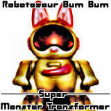 Robotozaur Bum Bum - Super Monster Transformer