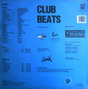 Piratas Del Ritmo - Club Beats Vol. 1
