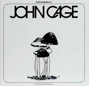 John Cage - John Cage cover of release