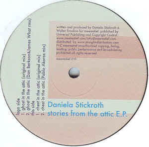 Daniela Stickroth - Stories From The Attic E.P.