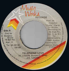 JC Lodge - Telephone Love