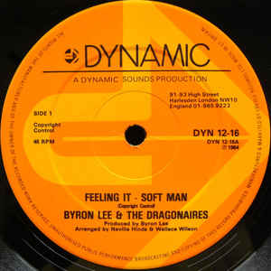 Byron Lee And The Dragonaires - Feeling It - Soft Man