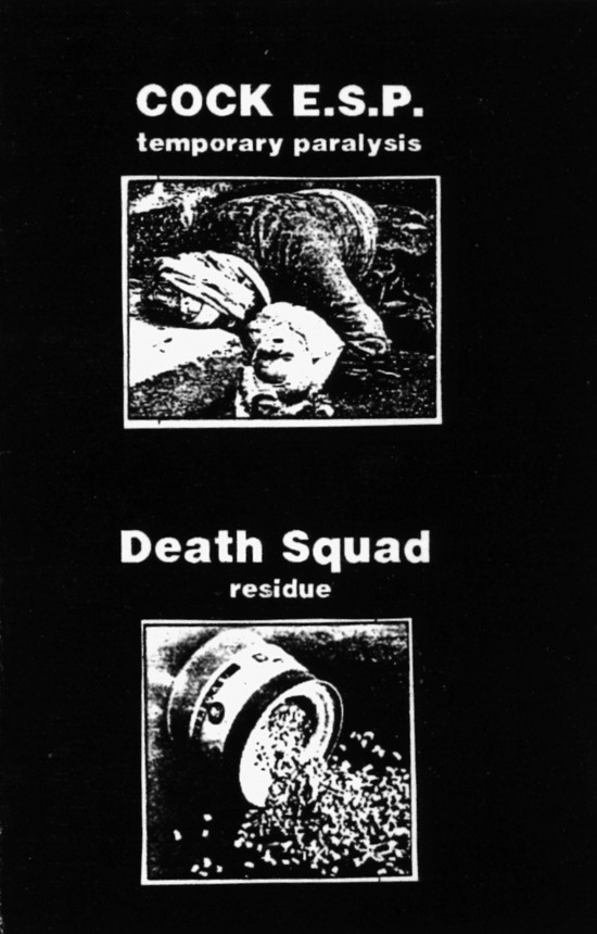 Death Squad - Temporary Paralysis / Residue