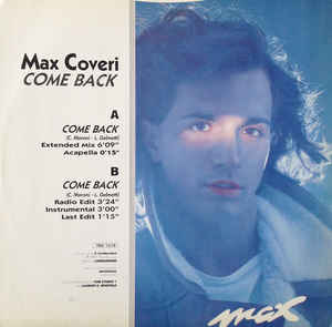 Max Coveri - Come Back