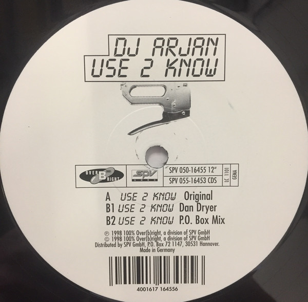 DJ Arjan - Use 2 Know