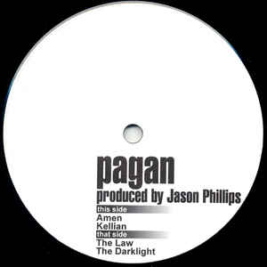 Pagan  - Amen cover of release