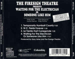 Firesign Theatre, The - Waiting For The Electrician Or Someone Like Him