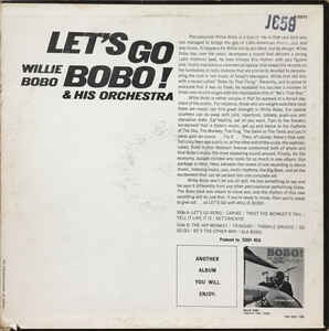 Willie Bobo & His Orchestra - Let's Go Bobo!