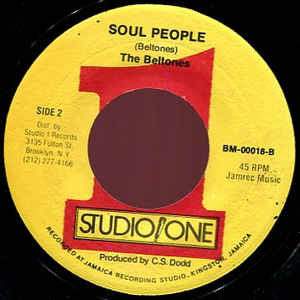 Prince Jazzbo - Jah Dread / Soul People