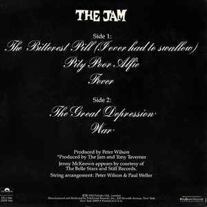 Jam, The - The Bitterest Pill (I Ever Had To Swallow)