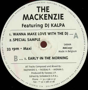 Mackenzie, The - Wanna Make Love With The DJ cover of release