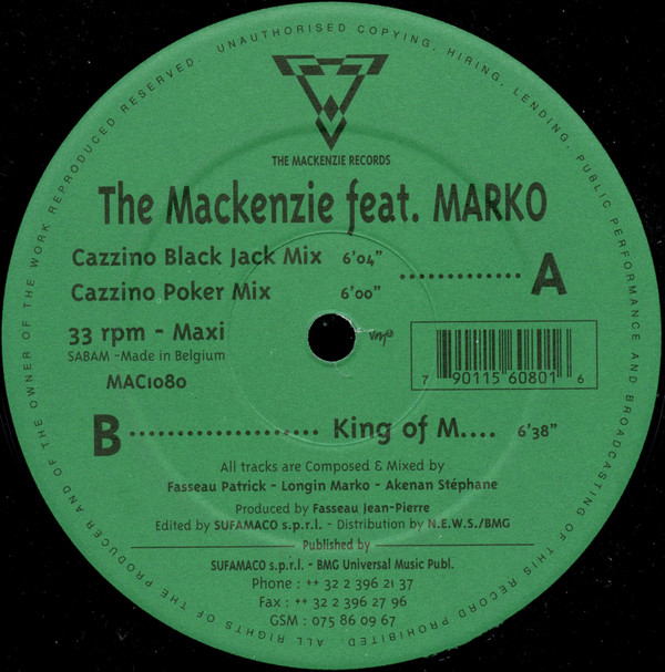 Mackenzie, The - Cazzino / King Of M