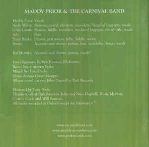 Maddy Prior & The Carnival Band - An Evening Of Carols & Capers