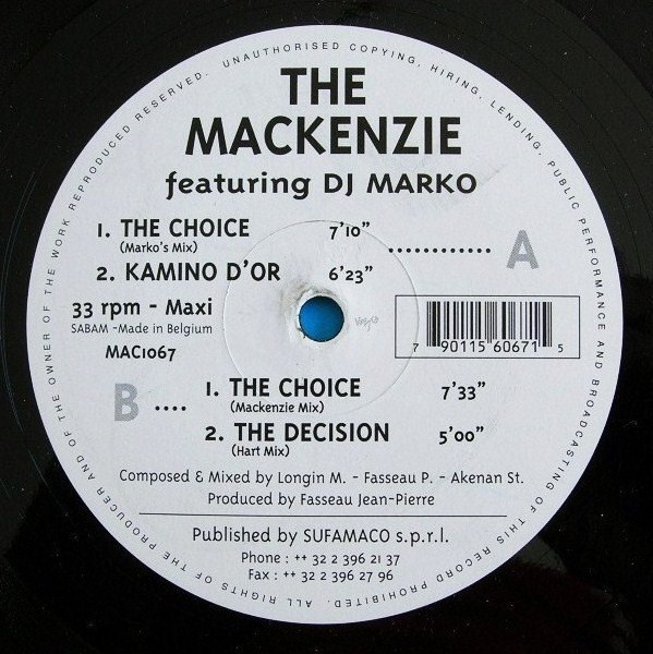 Mackenzie, The - The Choice