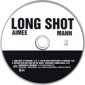 Aimee Mann - Long Shot cover of release