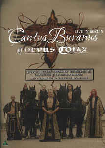 Corvus Corax - Cantus Buranus - Live In Berlin cover of release